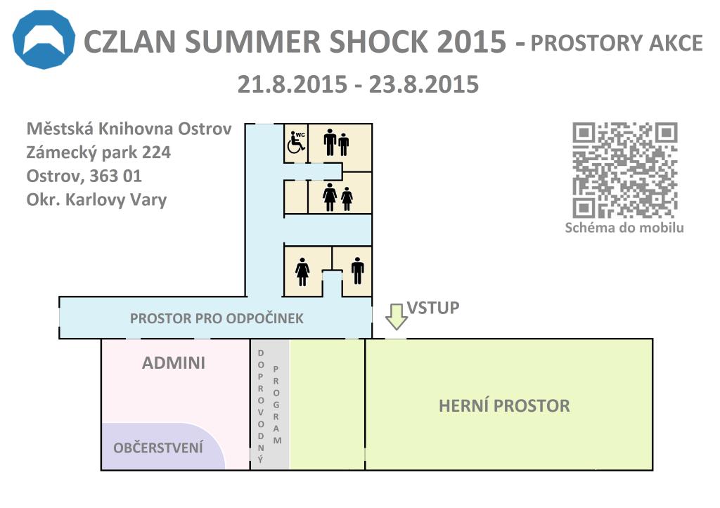 CZLAN Summer Shock 2015 - action space